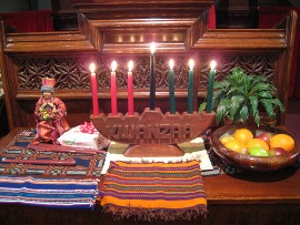 Kwanzaa table, 2008